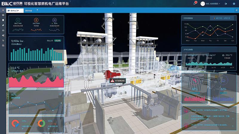 智慧燃机电厂解决方案