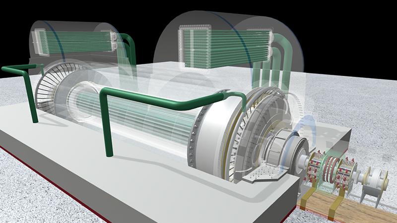 可视化发电机励磁滑环安全监控系统