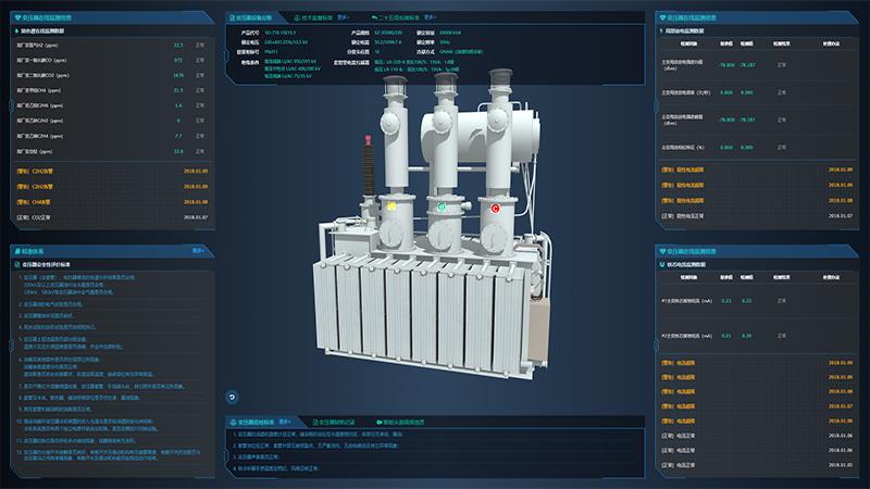 可视化高压主变安全监控系统