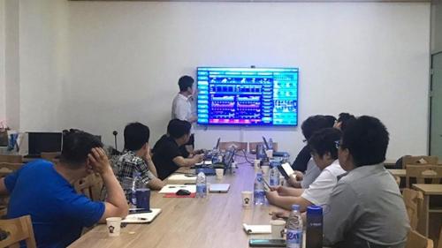 中国广核集团有限公司来必可测进行实地考察与交流