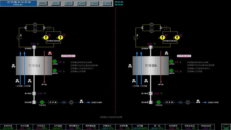 空预器智能寻优及安全监控系统